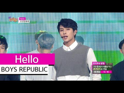 [HOT] BOYS REPUBLIC - Hello, 소년공화국 - 헬로우, Show Music core 20150627