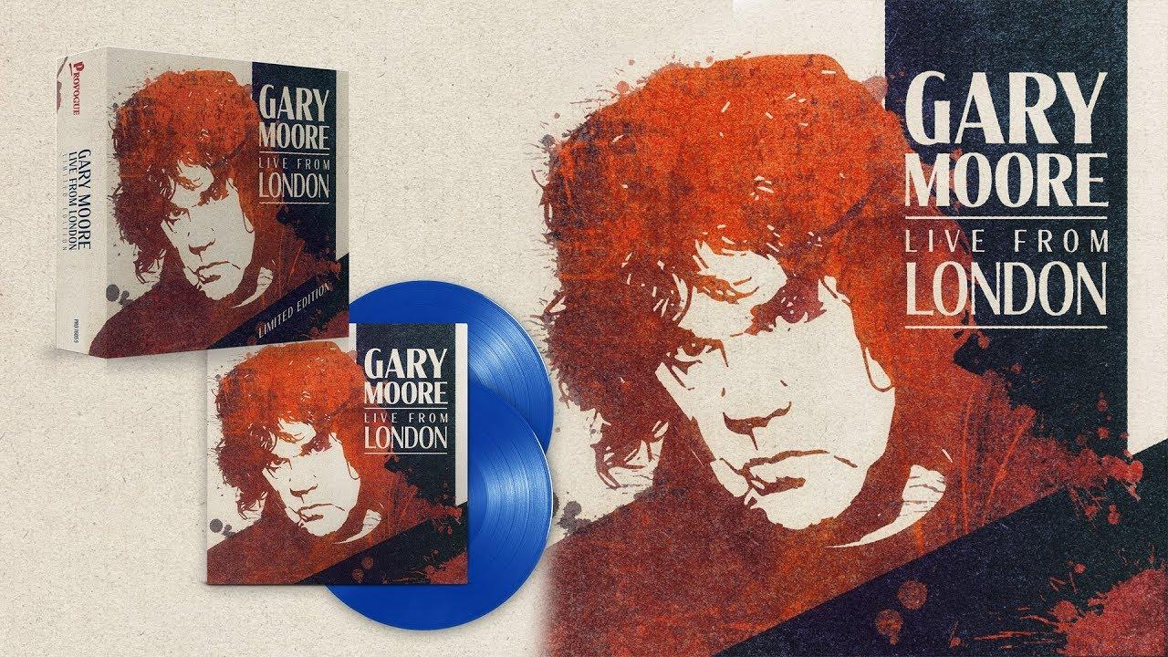 Resultado de imagem para gary moore live from london