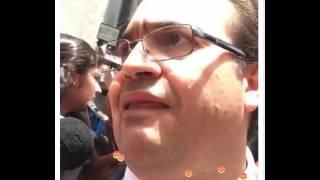 Javier Duarte acorralado por la PGR acusado de corrupción.