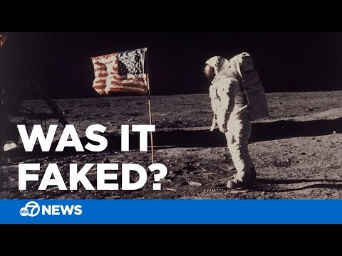 Was the moon landing faked? Arguments behind popular conspiracy theories