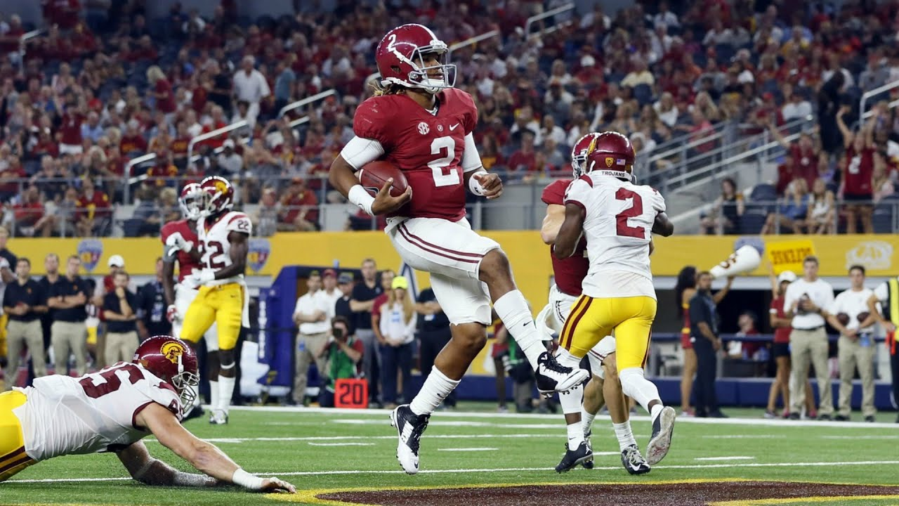 Alabama May Have Found Its QB In Freshman Jalen Hurts ...