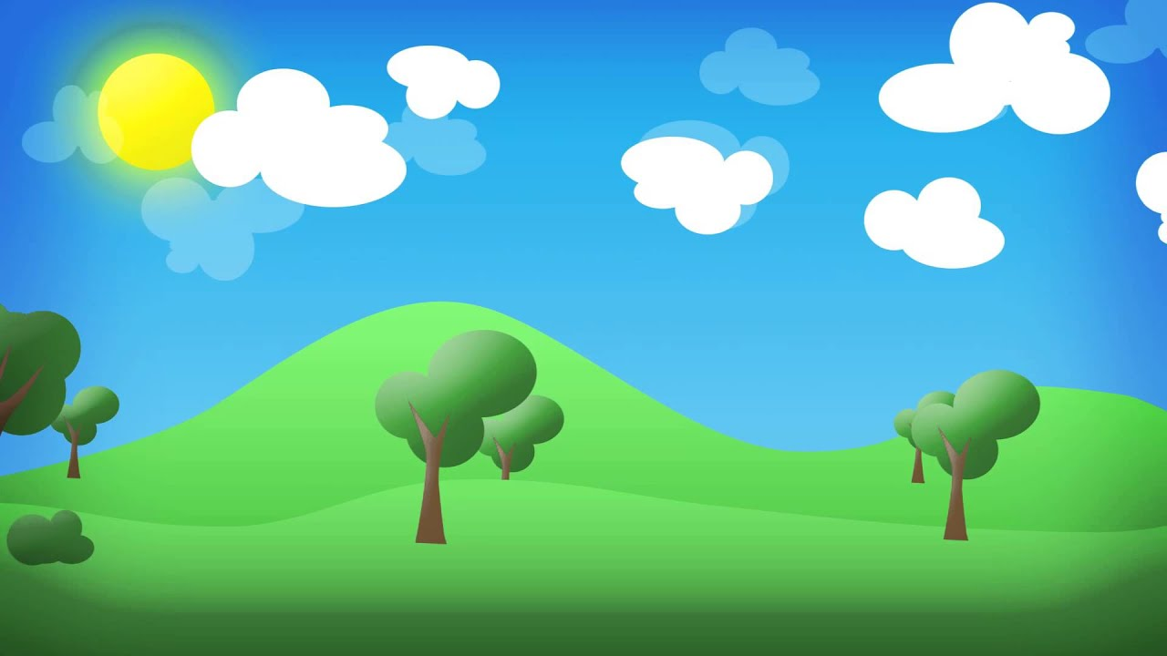 Paisaje en 2d animado youtube for Fondos animados 3d