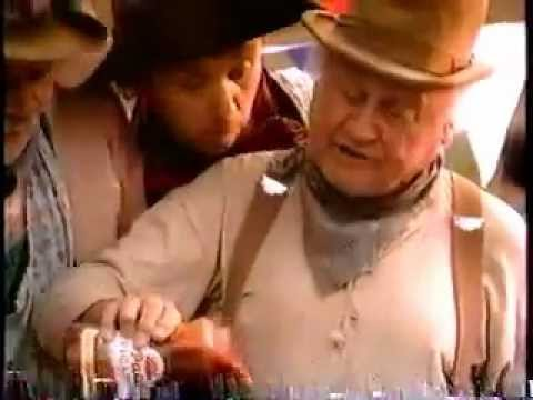Pace Picante Sauce Wild West Dip Off Commercial with Dub Taylor from 1993