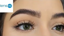The Most Natural Green Color Contact Lens on Brown eyes (Anesthesia Fonesta 2020)