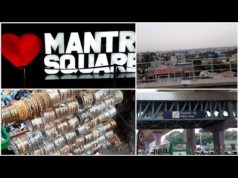 A Small Bangalore Trip|| Vlog || Mantri Square Mall Bangalor