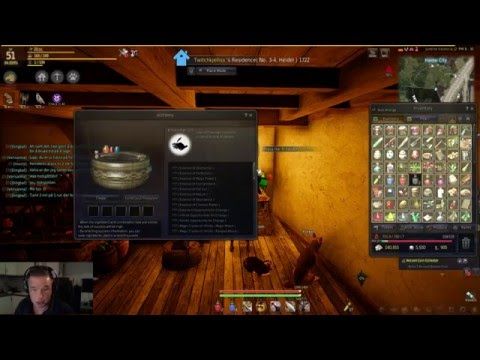 Black Desert Online: How Easy skill up in Alchemy..