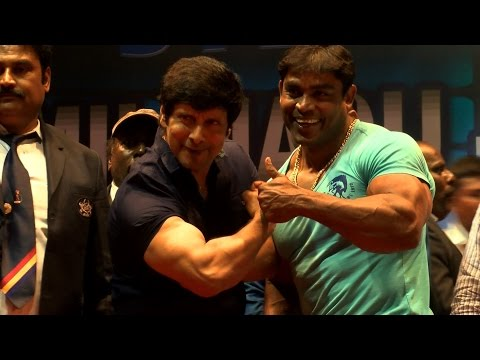 Actor Siyan Vikram Spends Time With The Real Bodybuilders of Tamil Nadu - Red Pix 24x7