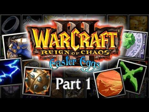 Warcraft 3 Easter Eggs Bonus: Icons & Spells