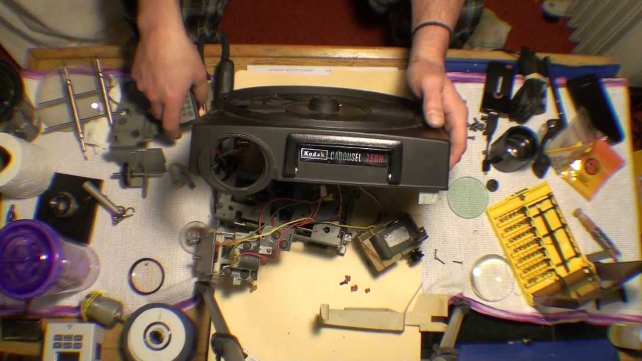 Kodak Carousel 750H Projector Autopsy