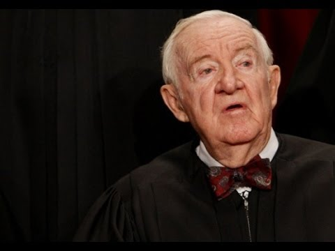 Why Is Ex-Supreme Court Justice John Paul Stevens Pissed Off?