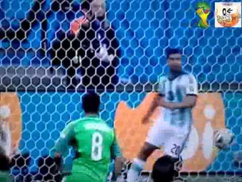 Piala Dunia 2014 : Argentina vs Nigeria 3-2