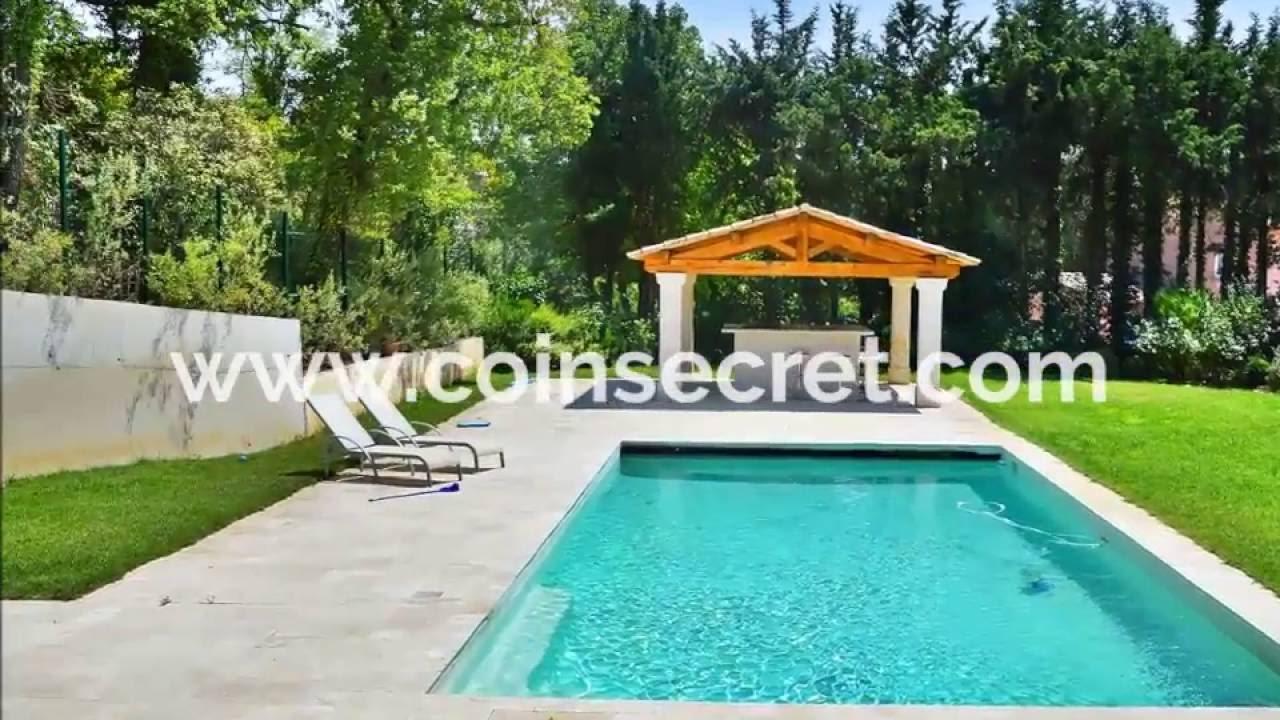 Aix en provence maison de charme avec piscine priv e et - Jardin autour de la piscine aixen provence ...