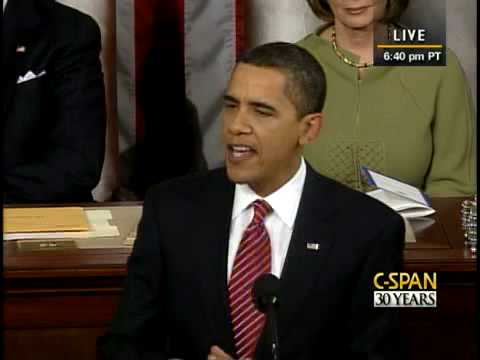 C-SPAN: President Obama Address to Congress