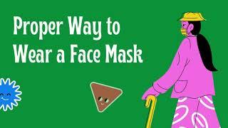 Subscribe, Like, Hit the Bell  Vote Voiced Presents: Proper Way to Wear a Face Mask.