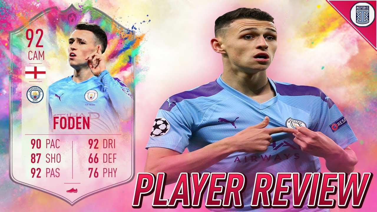 92 SUMMER HEAT FODEN PLAYER REVIEW! SBC PLAYER - FIFA 20 ULTIMATE TEAM -  YouTube
