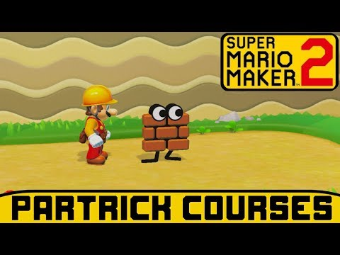 Super Mario Maker 2 Story Mode 100% Walkthrough (Partrick Courses)