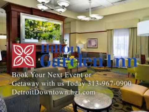 Hilton Garden Inn Downtown Detroit Youtube