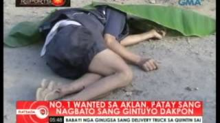 RATSADA: WANTED IN AKLAN DEAD IN SHOOTOUT