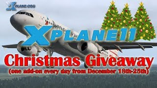 The X-plane 11 Christmas Giveaway (8 Add-ons)