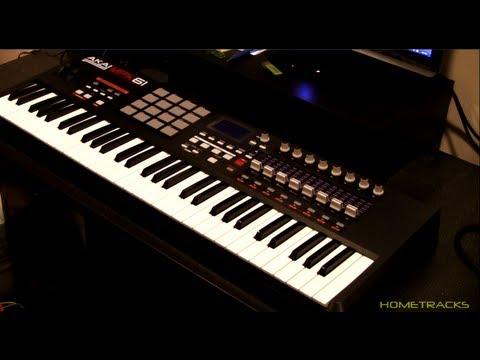 akai mpk61 usb midi keyboard controller unboxing youtube. Black Bedroom Furniture Sets. Home Design Ideas
