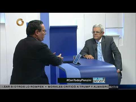 Larrazábal: La economía empezó a caer cuando el barril de petróleo estaba en 100 dólares (Parte 1/2)