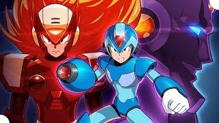 MEGA MAN X LEGACY COLLECTION - Gameplay do Início!