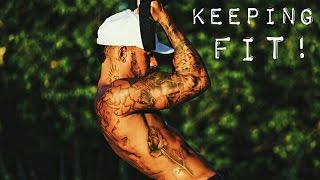 Keeping Fit! | Lewis Hamilton Snapchat Vlog