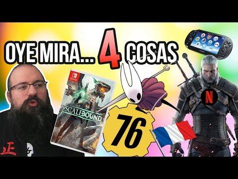 Oye mira 4 cosas - Silksong vs AAA, Guión Witcher, Ventas Francia, Scalebound, PSVITA, 900h Fallout thumbnail