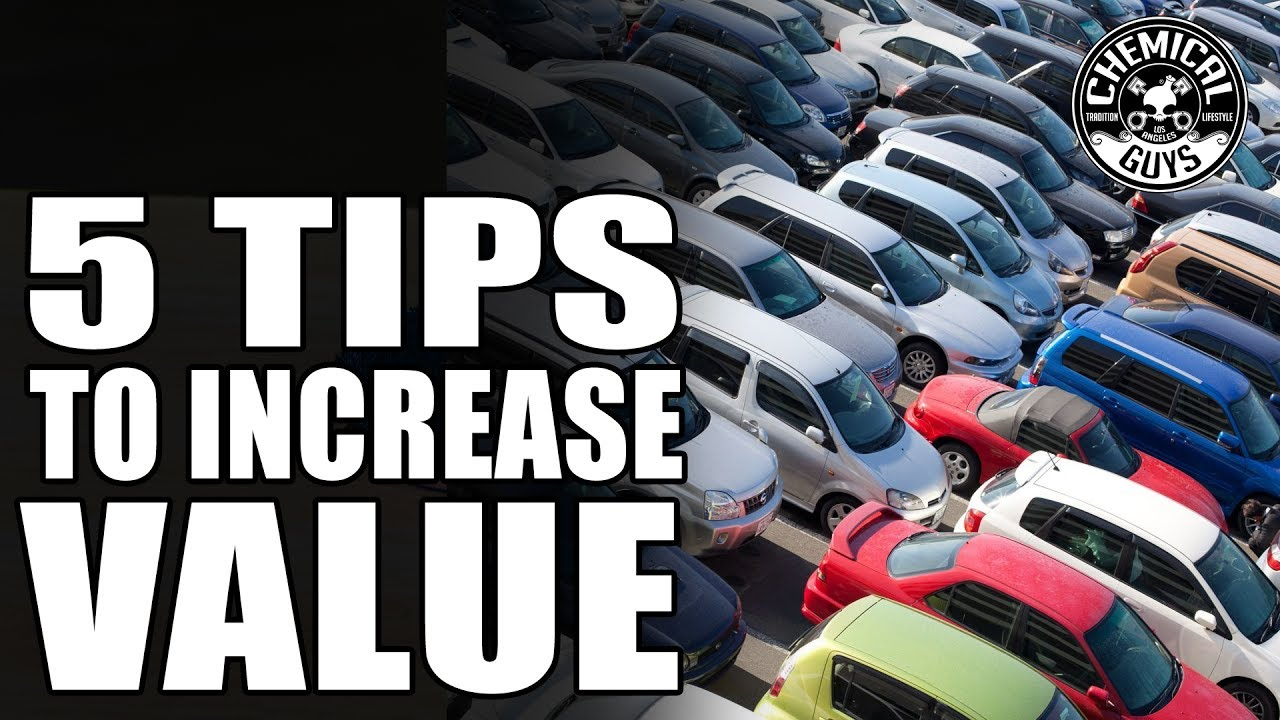 Top 5 Tricks To Increase Used Cars Value | Chemical Guys Car Care ...