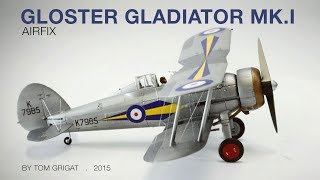 Airfix Gloster Gladiator Mk.I, 1/72, Shuttleworth