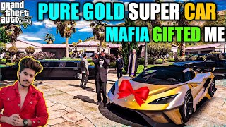 GTA 5 : MAFIA GIFTED ME PURE GOLD SUPER CAR OMG TODAY IS VERY SPECIAL DAY☺️♥️