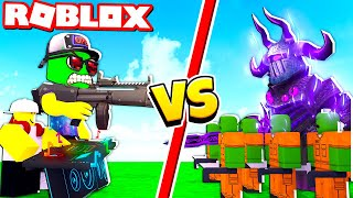 Bought A new FIGHTER-DJ and REACHED the MAIN BOSS! Tower Defense Simulator Roblox Mode