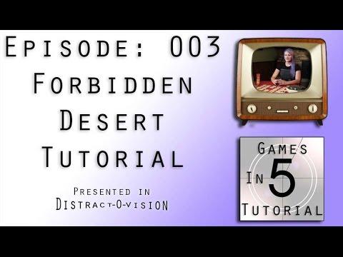 Forbidden Desert Tutorial - Games In 5: Episode 003