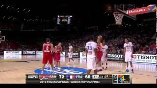 Bogdan Bogdanovic vs France 2014.09.12 (FIBA Basketball World Cup 2014)