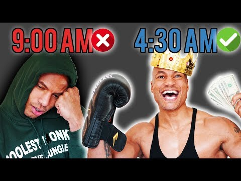 ⏰ Wake Up at 4:30 AM EVERYDAY and Feel AMAZING!