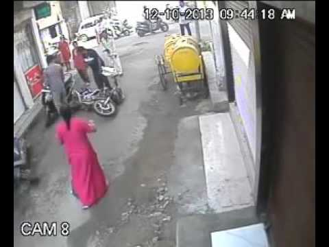 chain snatching sitabuldi nagour video capture bye connection world