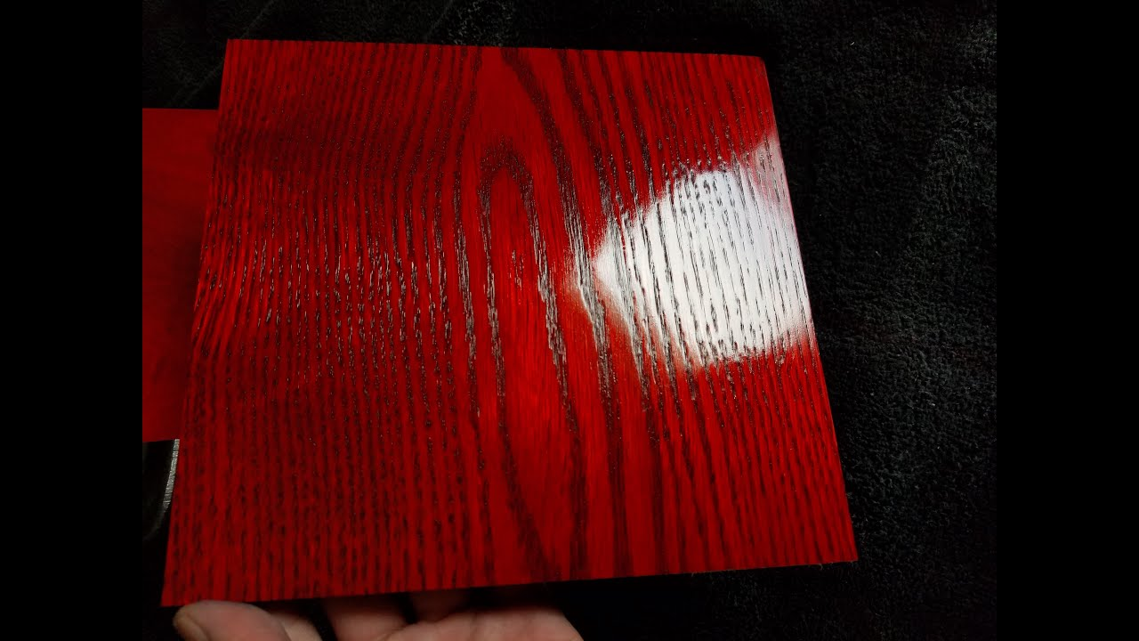 Red Dyes On Oak Dye Maple Using Liquid Wood To Make Stain