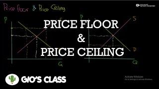 Penjelesan tentang Price Floor dan Price Ceiling