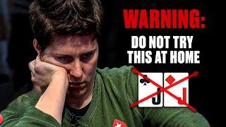 NEVER play POCKET JACKS like this ♠️ PokerStars