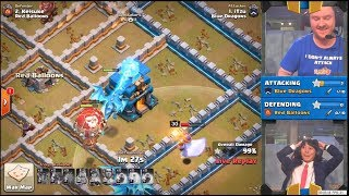 Clash of Clans - WORLD RECORD First TH12 3★★★ ATTACK iTZu vs. KEiSUKE