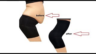Pop Fashion Womens Shapewear Panties Bodysuit Body Shaper High Waist Tummy Control Seamless
