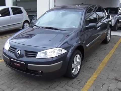 renault megane dynamique 1 6 16v flex 2008 youtube. Black Bedroom Furniture Sets. Home Design Ideas