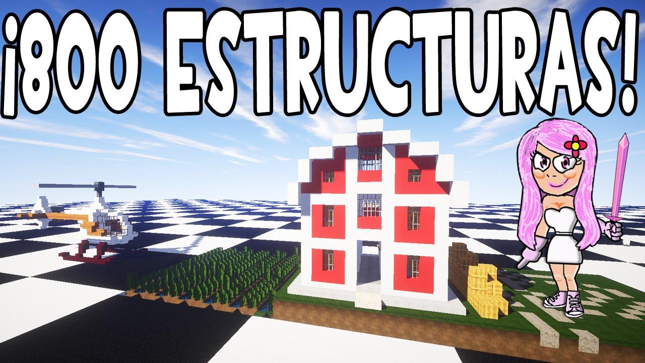 Mod de estructuras y casas instant neas minecraft 1 9 1 8 for Casa moderna 9 mirote y blancana