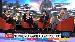 """Florencio Randazzo: """"Pensaba que Cristina no iba a ser candidata"""""""