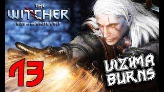 THE WITCHER. Part 13: Vizima in Flames (movie-walkthrough, graphic mods)