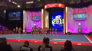 california all stars team reckless worlds 2018
