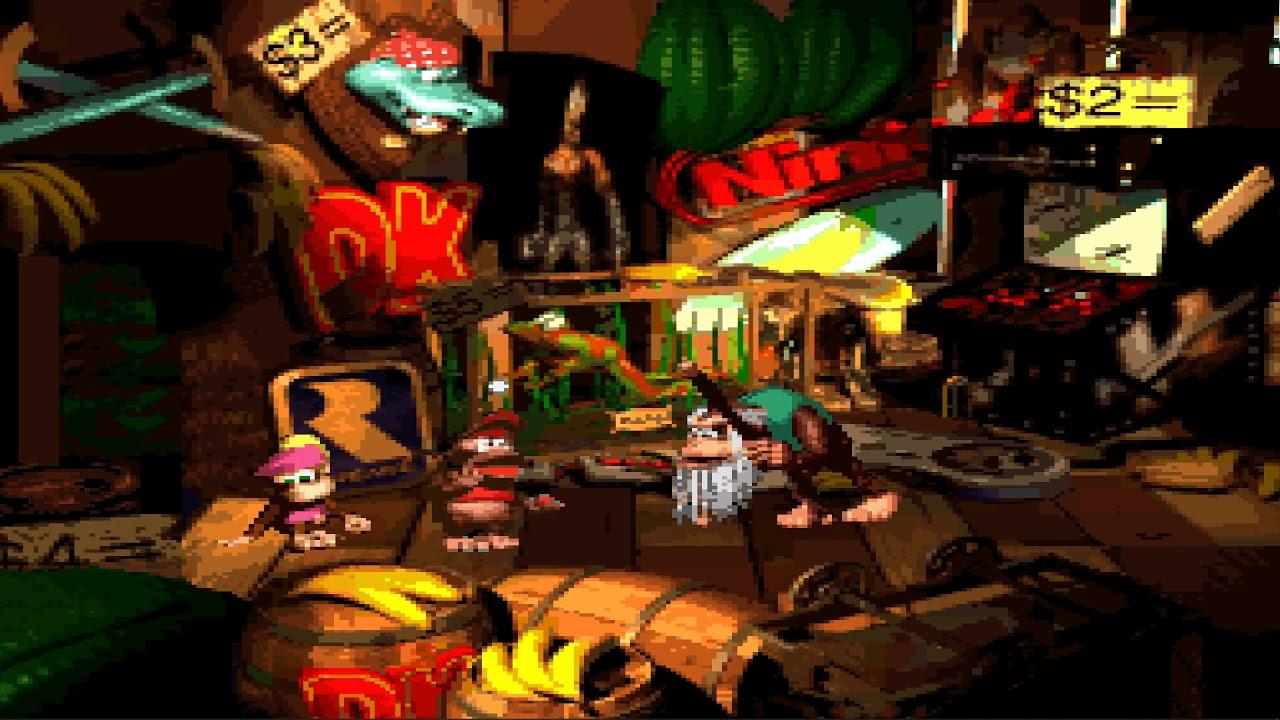 Donkey Kong Country 2 Cranky Pixel Retro Snes Wallpaper
