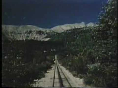 Pikes Peak or Bust 1954 Colorado Springs promotional Video