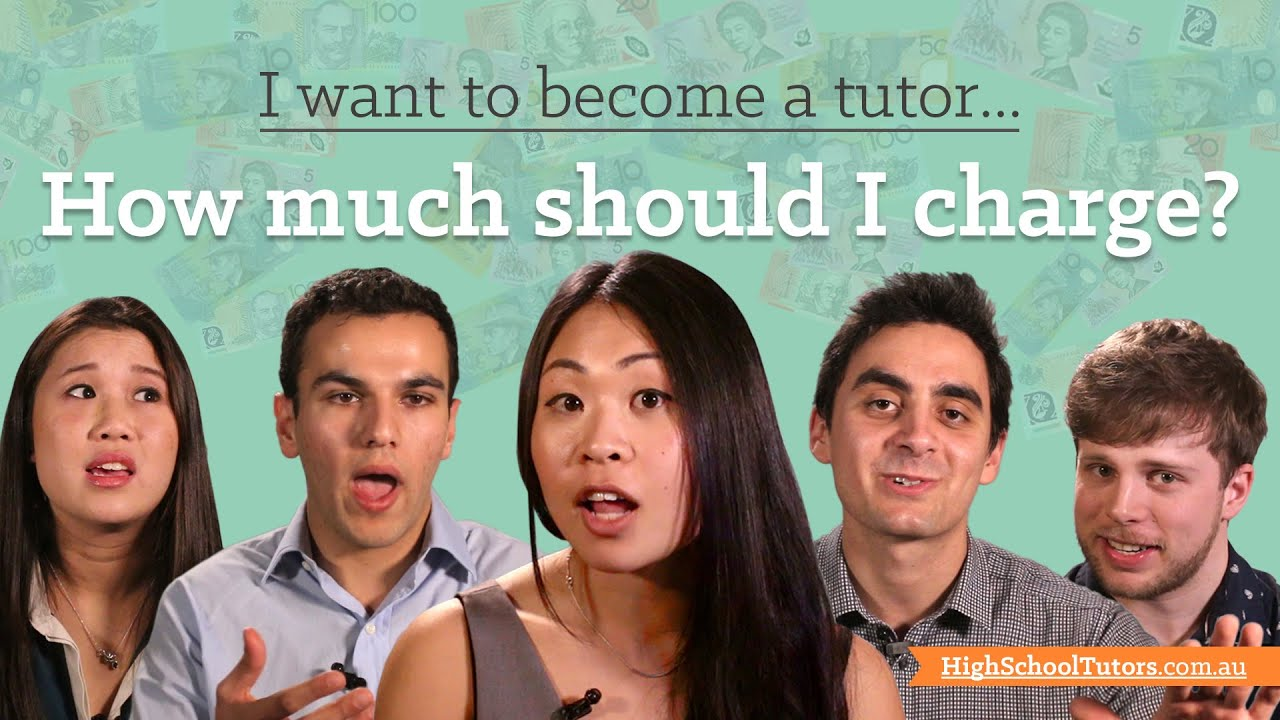 I Want to Become A Tutor: How much should I charge? - YouTube
