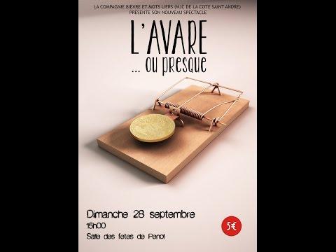 L'Avare ... ou presque (Atelier théâtre MJC La Côte Saint André 2014)